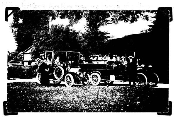 Hall original coach trip